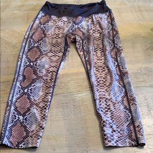 Prism snakeskin leggings